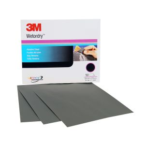 3M™ Wetordry™ Sheet, P400 grit, 9 x 11 inch
