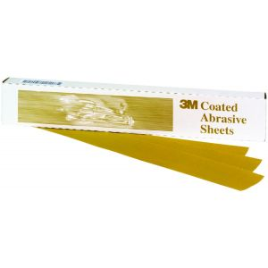 3M™ Production™ Gold File Sheet, 2 3/4 inch x 17 1/2 inch, 220 grade