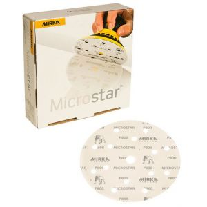 Microstar 6in. Film-Backed 1500 Grit Sanding Grip Disc (50/Box)