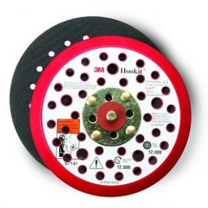 3M™ Hookit™ Clean Sanding Low Profile Disc Pad, 6 inch, 52 Holes