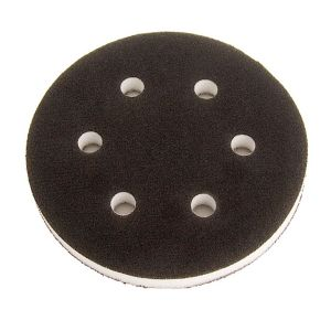 Grip Faced 6 Hole Sander Interface Pad (6 inch)