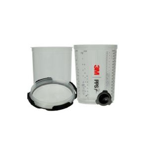 3M PPS Series 2.0 Spray Cup System Kit Large (28 fl oz/850 mL) 200 Micron Filter